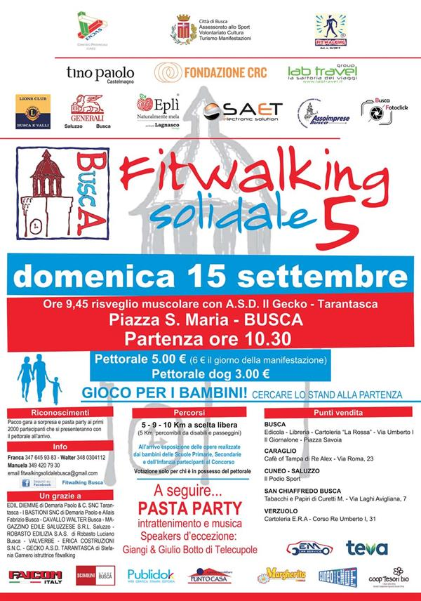 BUSCA (Cn) - Fitwalking Solidale